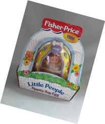 1999 Fisher-Price LITTLE PEOPLE Tippity-Top Egg Holiday
