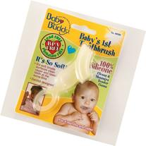 Baby Buddy Baby's 1St Toothbrush Yellow Silicone Toothbrush