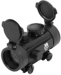 "NcStar 1X30 B-Style Red Dot Sight / 3/8"" Dovetail Base"
