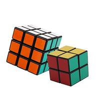 2 Pack Shengshou 3x3x3 + 2x2x2 Square Speed Cube Puzzle