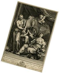 2 Antique Master Prints-PIERRE VINCENT BERTIN-Coypel-