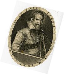 2 Antique Master Prints-PORTRAITS-ADRIAEN VAN EYNTHOUT-JACOB