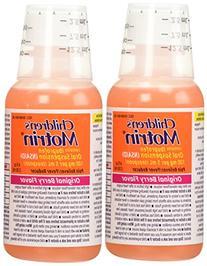 2 Combo Pack Children's Motrin Ibuprofen Pain Fever Reliever