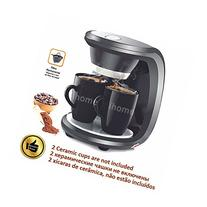 High Quality 2 Cups Black Color Coffee Machine,American or