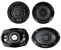 "Kenwood KFC-1665S 6.5"" 300W 2-Way Plus  6x9"" 400W 3-Way Car"
