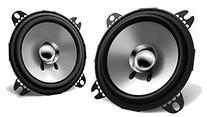 "2) New Kenwood KFC-C1055S 4"" 210 Watt 2-Way Car Audio"