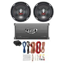 "2 BOSS P126DVC 12"" 2300W Car Subwoofers Subs + 1600W 2-Ch"