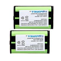URPOWER® 2 Packs Home Phone Battery For Panasonic HHR-P104
