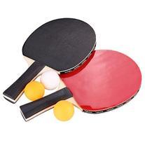 Aoneky 2-Player Ping Pong Paddles Set