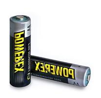 2 PowerEx Rechargeable AA NiMH 2700mAh Batteries