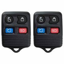 2 KeylessOption Replacement Keyless Entry Remote Control Key