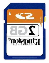 Kingston 2 GB SD Flash Memory Card SD/2GBKR