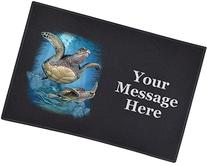 2 Sea Turtles  - Door and Welcome Mat