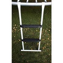 Super Jumper 2 Steps Ladder Trampoline, White