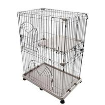 IRIS 2-Tier Wire Cat Cage