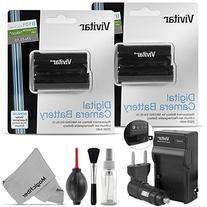 Vivitar EN-EL15 Battery and Charger Kit for NIKON DSLR D810