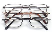 Optx 20/20 Alpha Alloy Readers, Metal Readers +200