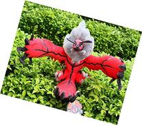 "20""Cute Anime Pokemon Y Plush Yveltal Doll Toy Soft Stuffed"