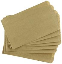 MyCraftSupplies 200 Brown Kraft Paper Bags, 5 x 7.5, Good