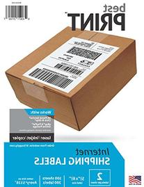 Best Print 200 Half Sheet - Best Print Shipping Labels - 5-1