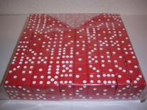 200 Red Dice - 16mm