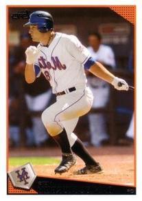 2009 Topps Baseball #182 Daniel Murphy Rookie Card