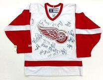 2009 Detroit Red Wings Team Signed Ccm Jersey Brad Mccrimmon