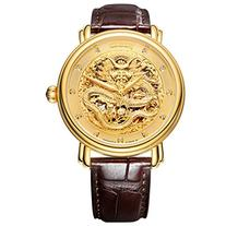Jiusko 200LG0507 Men's Chinese Dragon 20 Jewel Mechanical