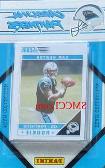 2011 Score Carolina Panthers Factory Sealed 11 Card Team Set