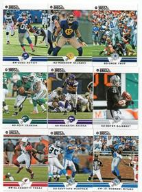 2012 Score Football Series Complete Mint 400 Card Set with