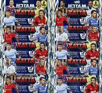 2013/2014 Topps Match Attax Premier League Soccer lot of TEN
