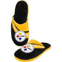 Pittsburgh Steelers Official NFL M Slippers by Forever