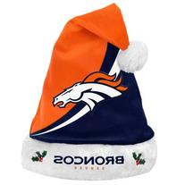 NFL Swoop Logo Santa Hat NFL Team: Denver Broncos