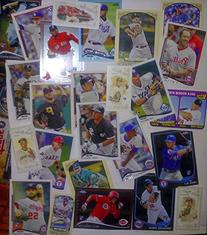 2014 TOPPS BASEBALL - 80 CARD LOT - ROOKIES & STARS WITH NO
