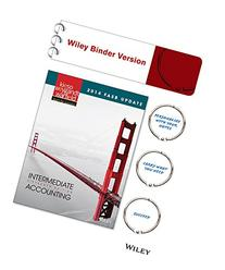 2014 FASB Update Intermediate Accounting 15e Binder Ready
