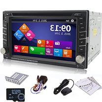 "Ouku 6.2"" 2Din LCD TFT in Dash Car DVD Player with DVD/CD/"