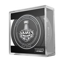 2014 NHL Stanley Cup Final Game 5 Puck in Acrylic Cube - Los