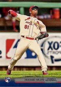 2014 Topps Stadium Club Baseball #47 Oscar Taveras Rookie