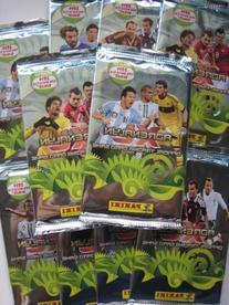 Panini 2014 World Cup Brazil Adrenalyn Soccer Cards 10 Packs