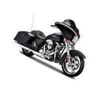 2015 Harley Davidson Street Glide Black Motorcycle Model 1/