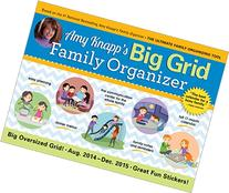 2015 Amy Knapps Big Grid Family Wall Calendar