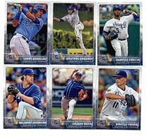 2015 Topps Baseball Cards Kansas City Royals 22 card