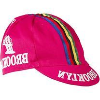 Giordana 2015 Brooklyn Team Cycling Cap Pink with World