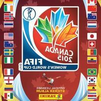 2015 FIFA Women's World Cup Sticker Album Collection