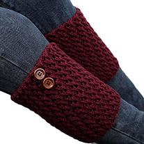 Coromose® 2015 Women Knitted Hollow Out Twill Leg Warmers