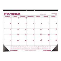 Brownline 22 X 17 Inches 2015 Monthly Desk Pad with Virgin