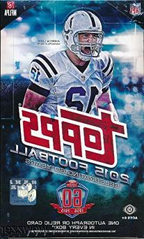 2015 Topps NFL Football MASSIVE Factory Sealed 36 Pack HOBBY