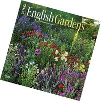 2016 English Gardens Square 12x12 Wall Calendar