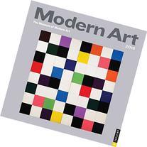 2016 Modern Art Wall Calendar