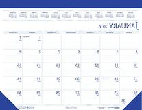 House of Doolittle 2016 Monthly Desk Pad Calendar, Classic,